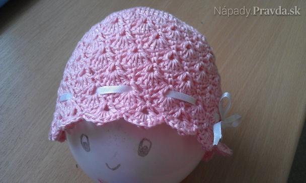 1a52524fb Háčkovaná čiapočka pre novorodenca (fotopostup) - Návody - napady ...
