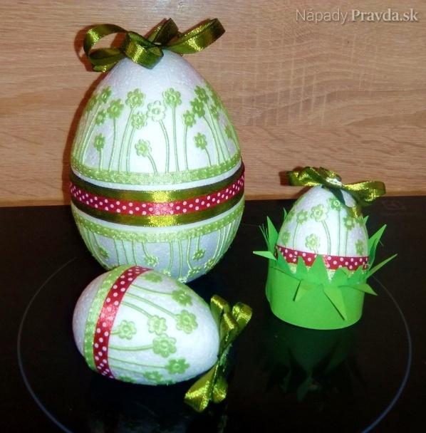 717b2ab64 Veľkonočné vajíčka (fotopostup) - Nápady - Varecha.sk